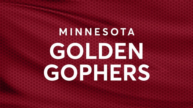 University of Minnesota Golden Gophers Mens Hockey