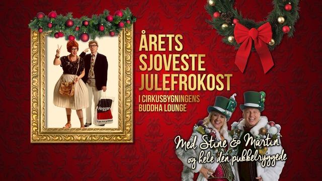 Aarets sjoveste julefrokost med Stine og Martin i Buddha Lounge