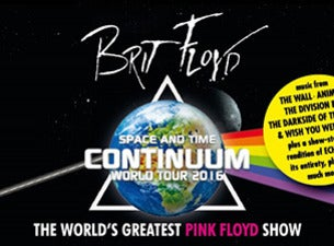 Brit Floyd:  40 Years Of The Wall And More!