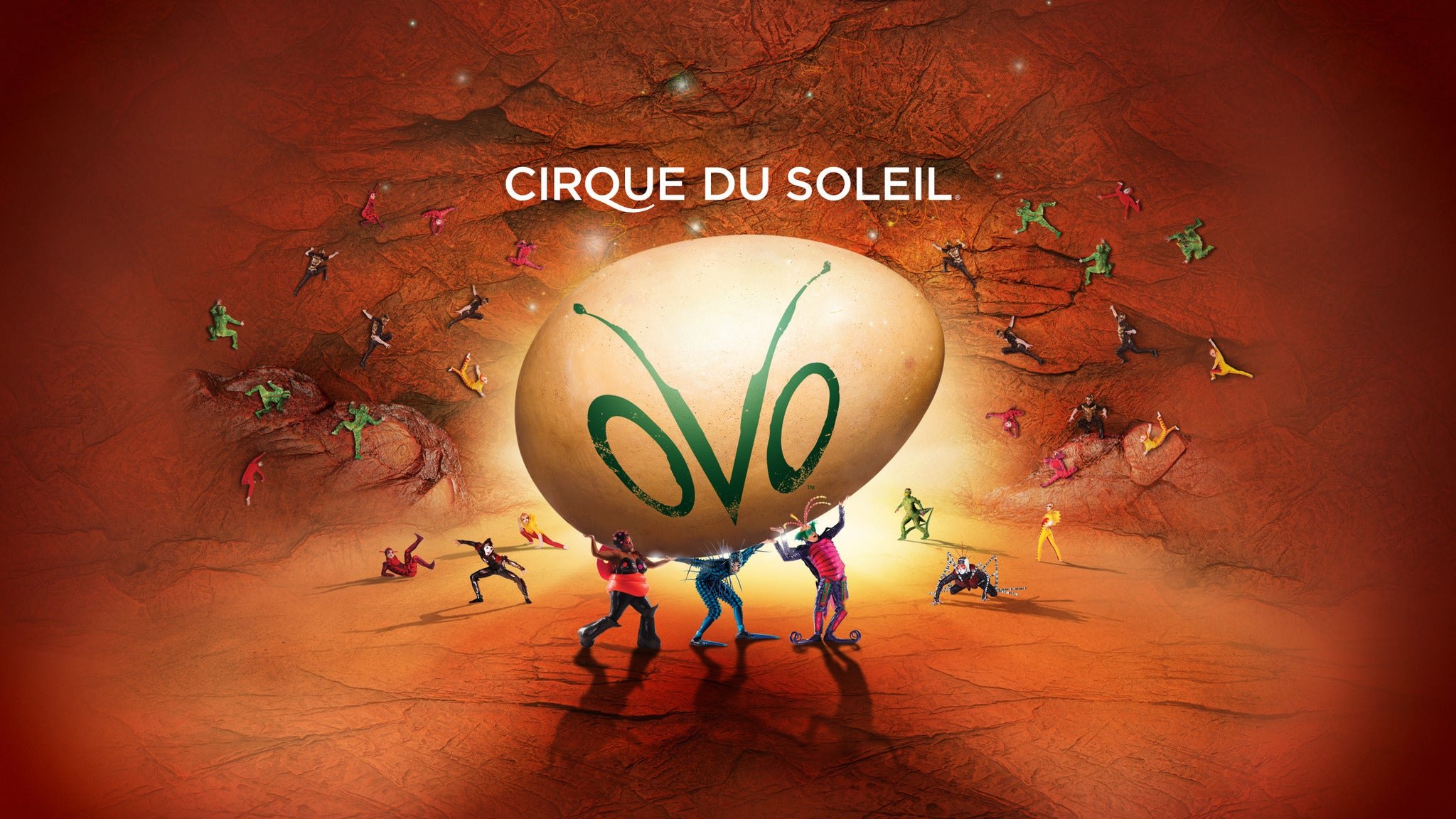 Cirque du Soleil: OVO at Von Braun Center Arena