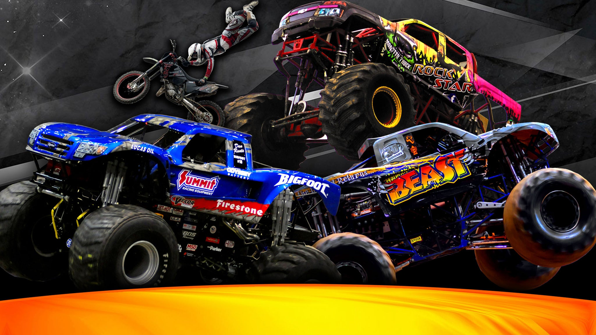 Monster Truck Destruction Tour - Monster Trucks & FMX