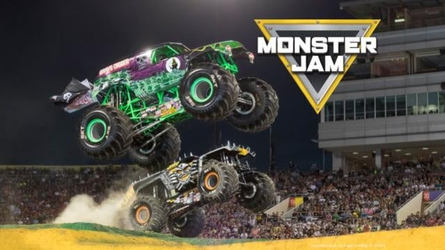 Monster Jam at Oakland Alameda County Coliseum