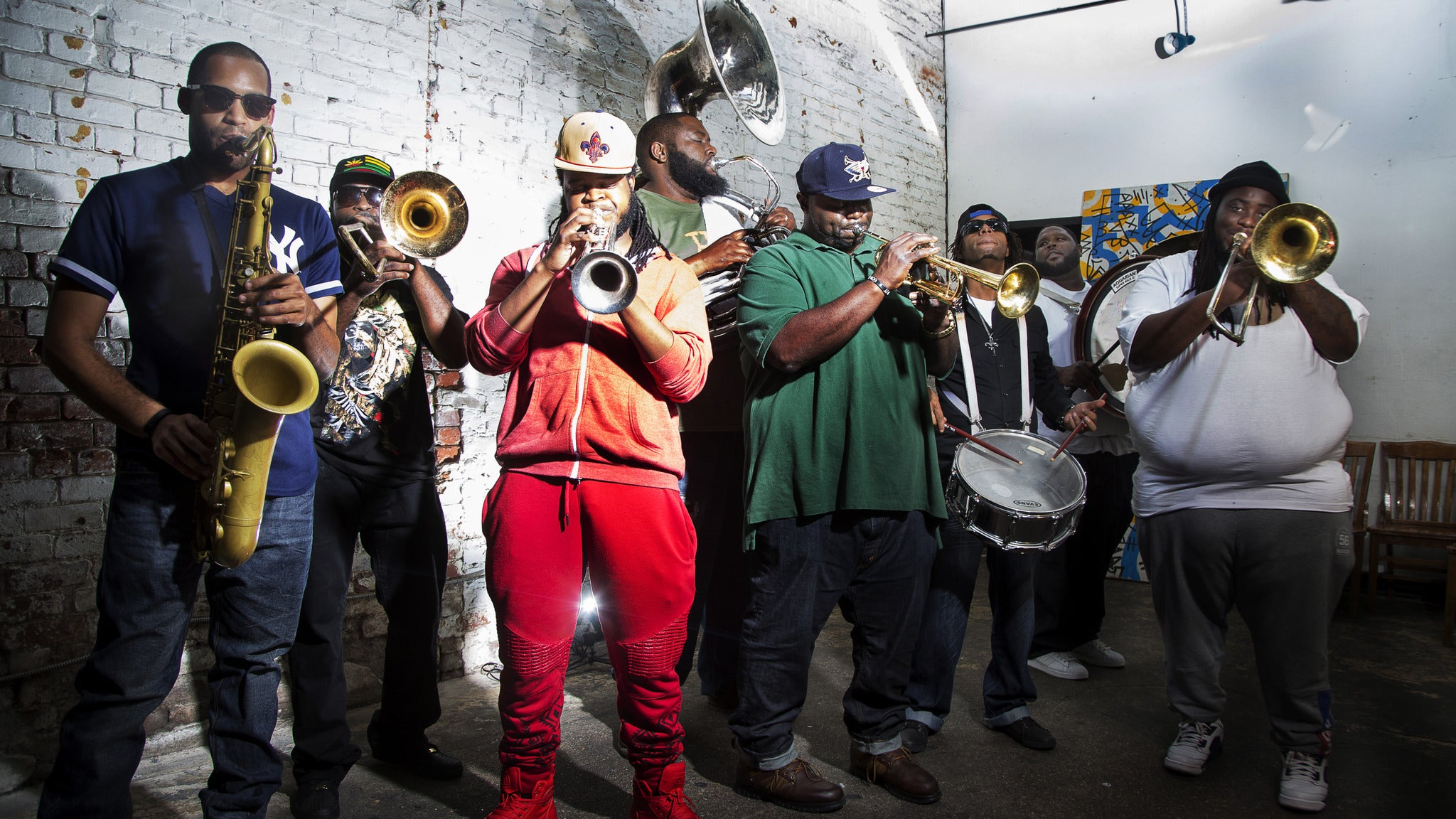 Hot 8 Brass Band at The Howlin Wolf