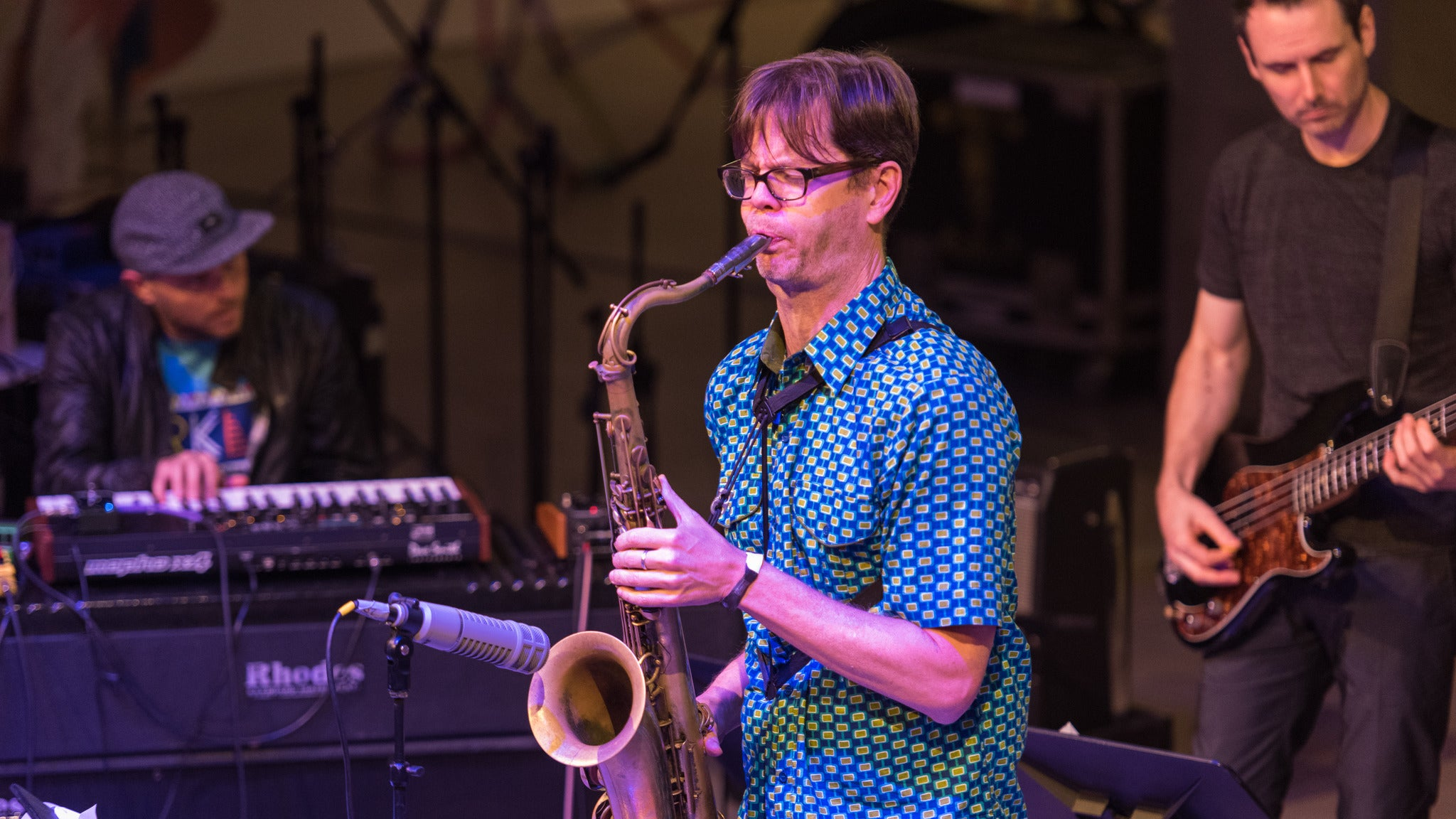 Donny McCaslin at Loeb Playhouse