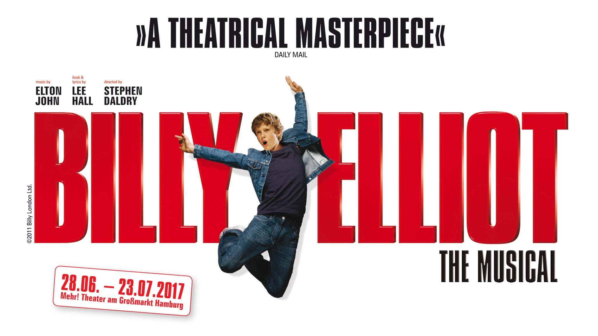 Billy Elliot the Musical at Spreckels Theatre