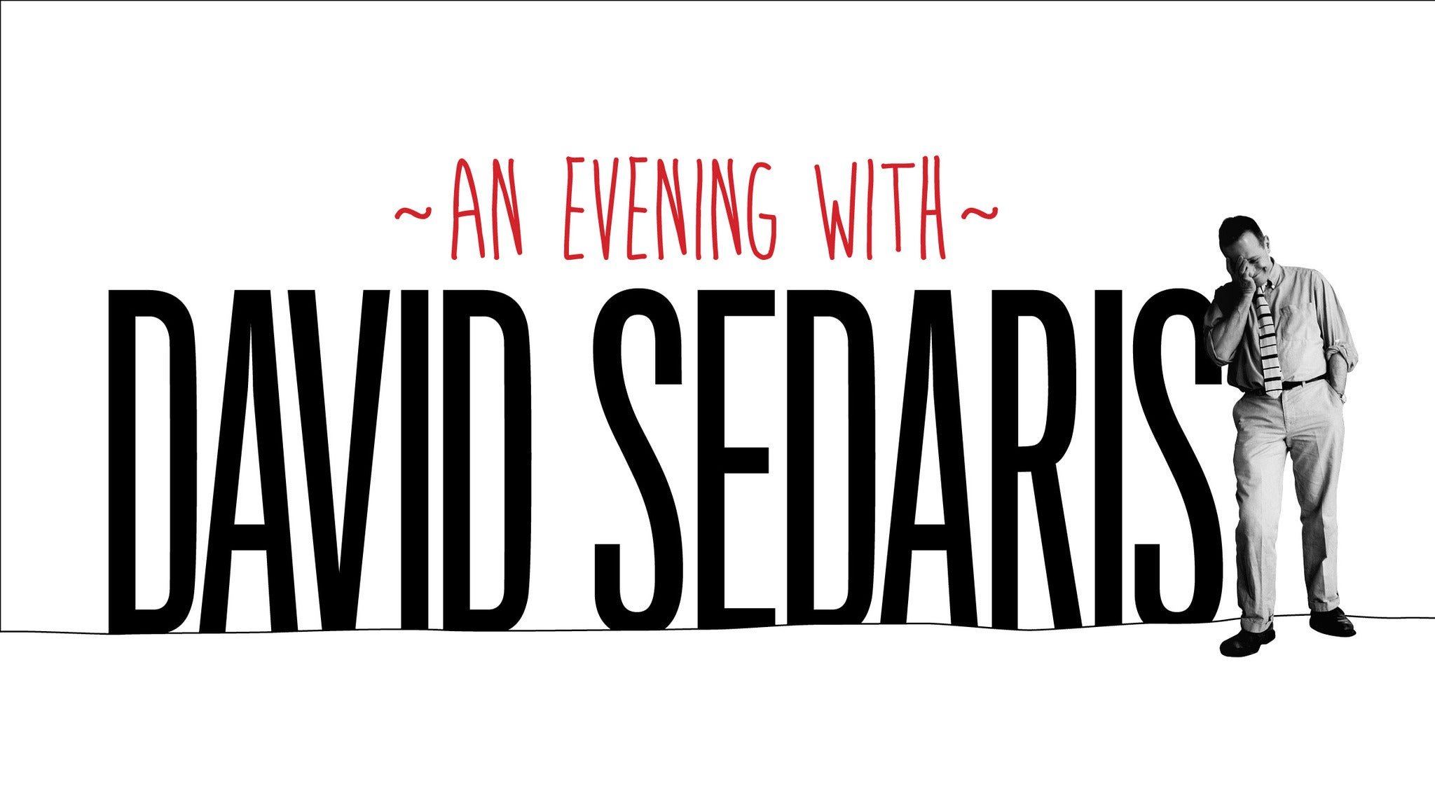 David Sedaris at Baton Rouge River Center Theater - Baton Rouge, LA 70802