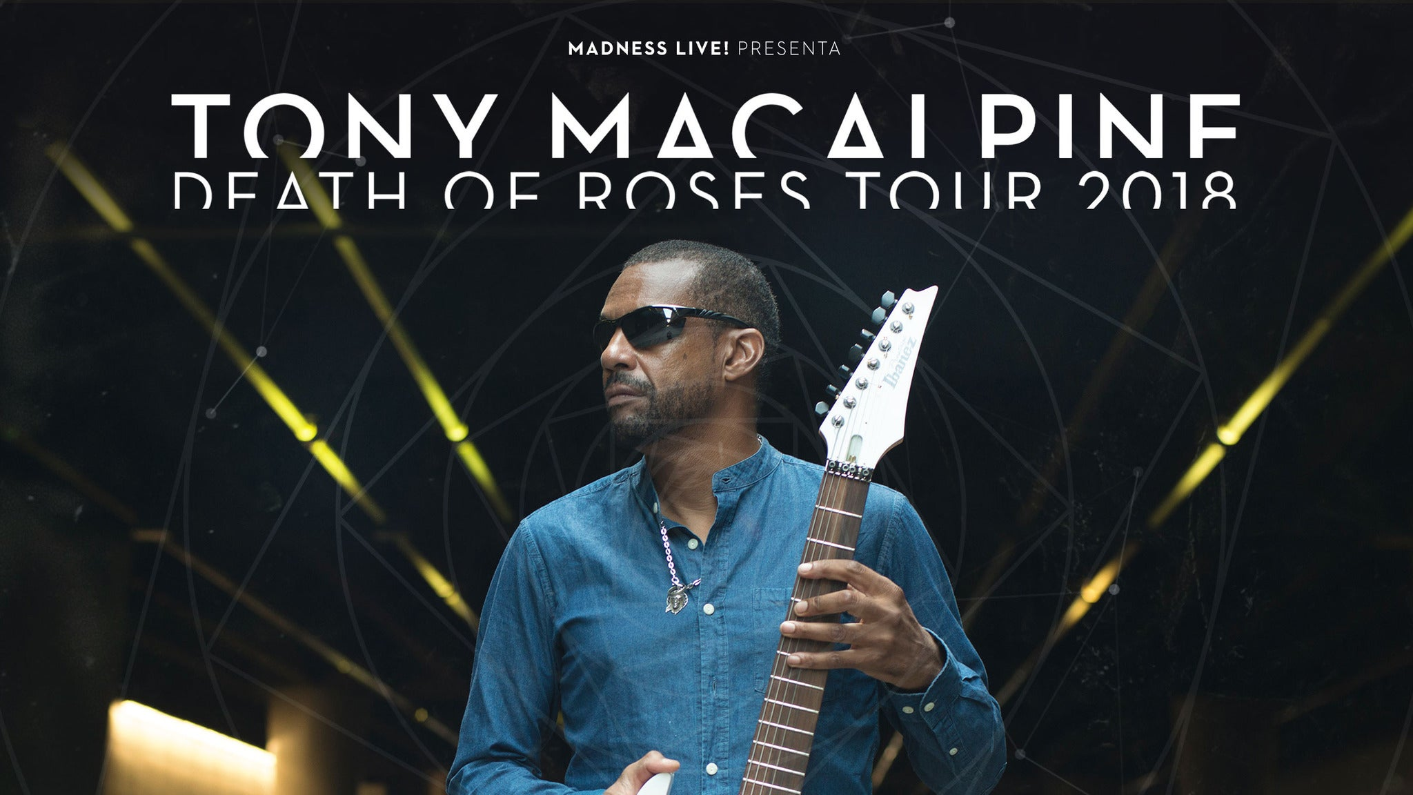 Tony MacAlpine 'the Electric Illusionist' Tour W/ Special Guest Arch E