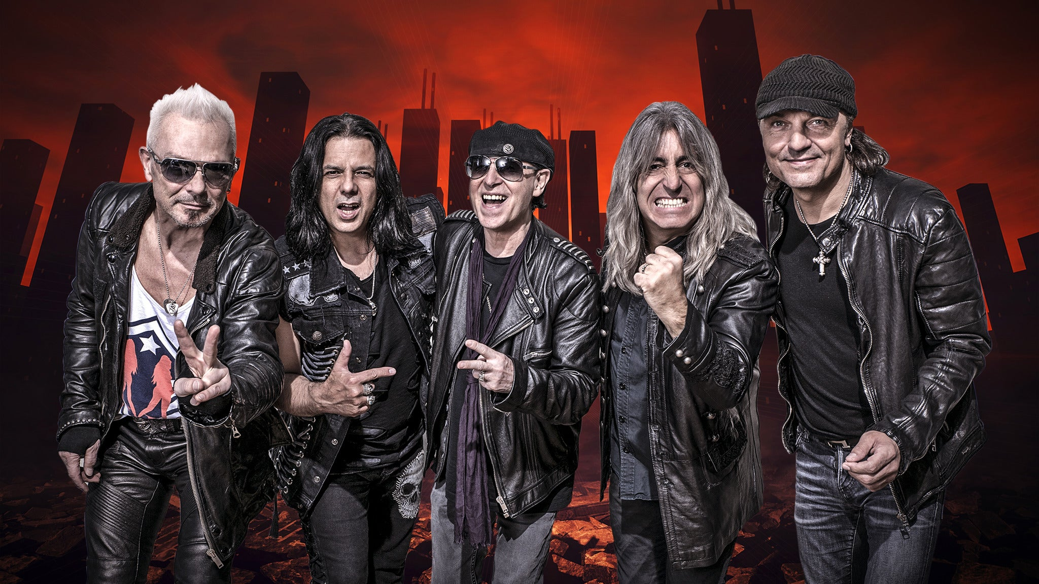 Scorpions with Queensryche at Comerica Theatre