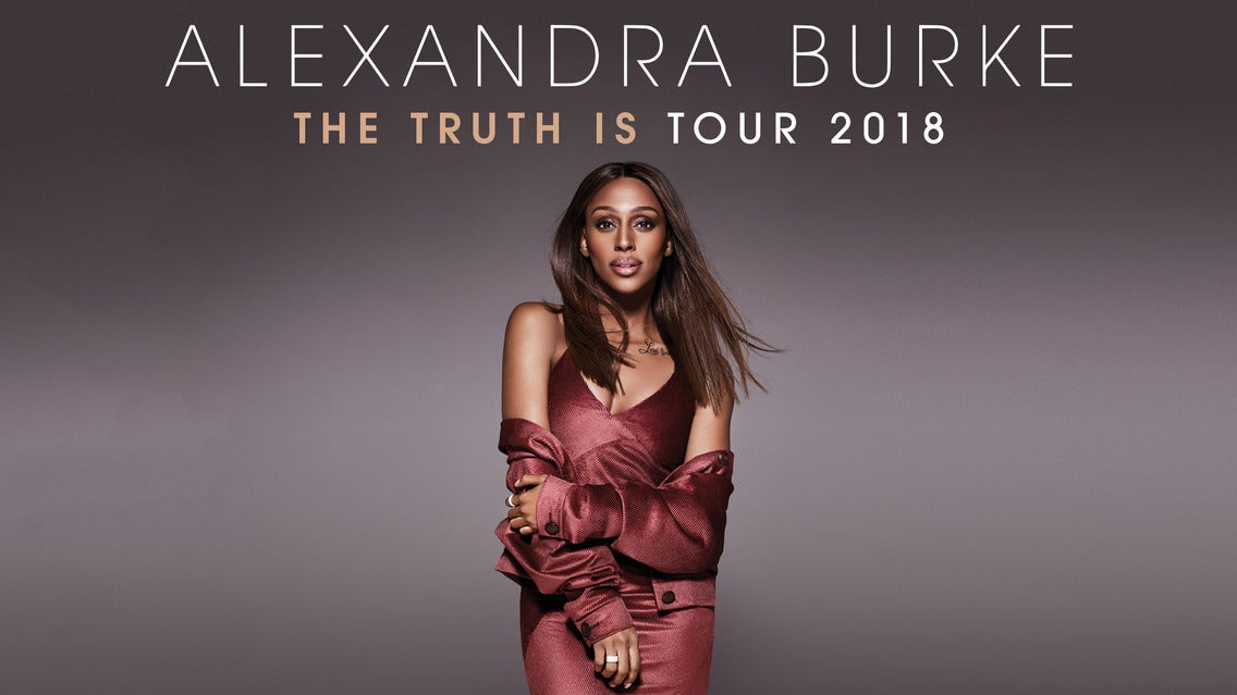 Alexandra Burke - the Truth Is Tour 2018
