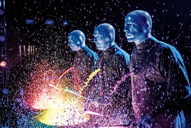 Blue Man Group at the | Cambridge, MA | Charles Playhouse | April 21, 2017
