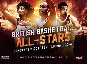 British Basketball All Star Championships 2019 tickets (Copyright © Ticketmaster)