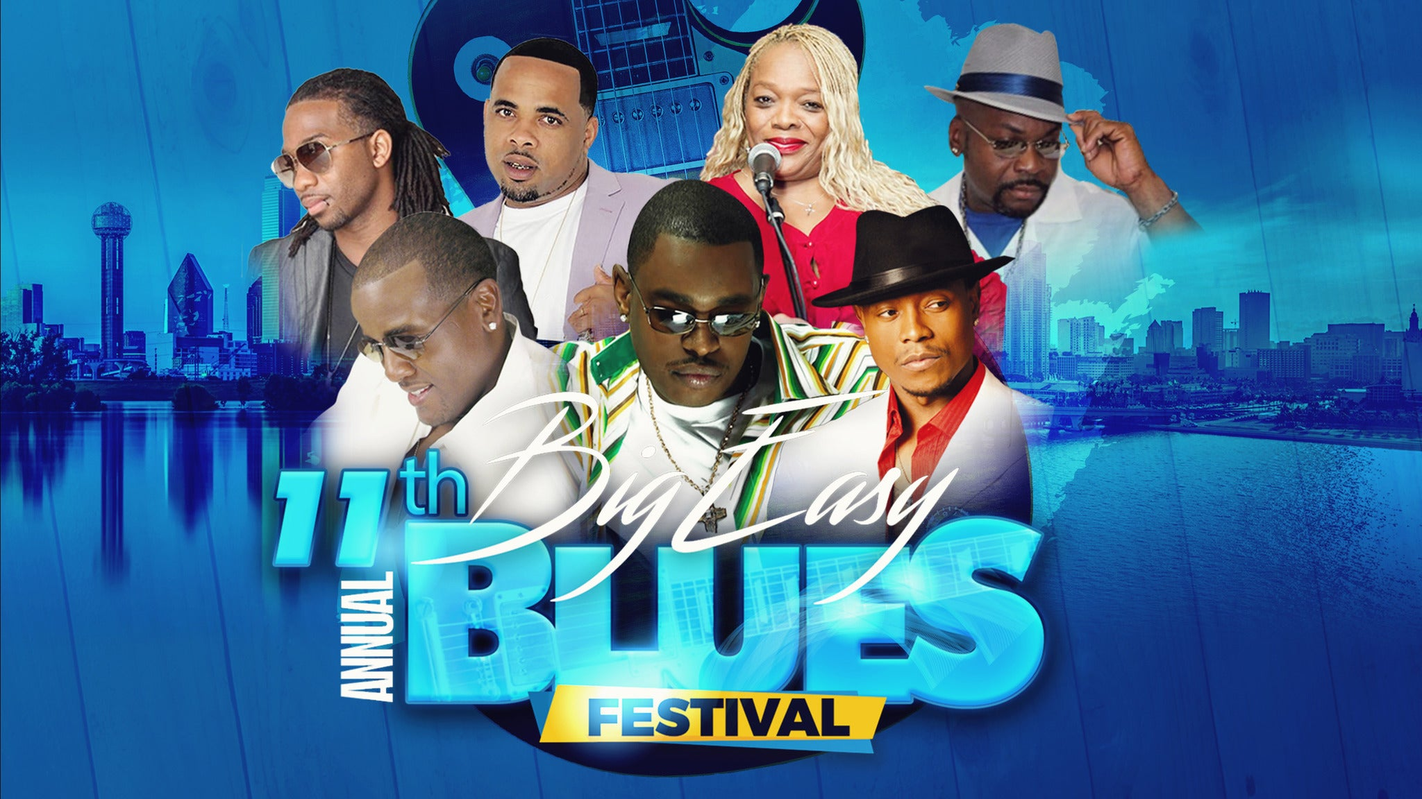 11th Annual Big Easy Blues Festival at UNO Lakefront Arena