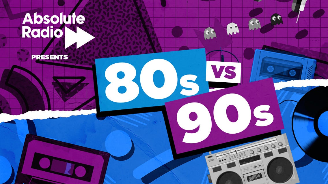 Absolute Radio Presents: 80s Versus 90s - Live! tickets (Copyright © Ticketmaster)
