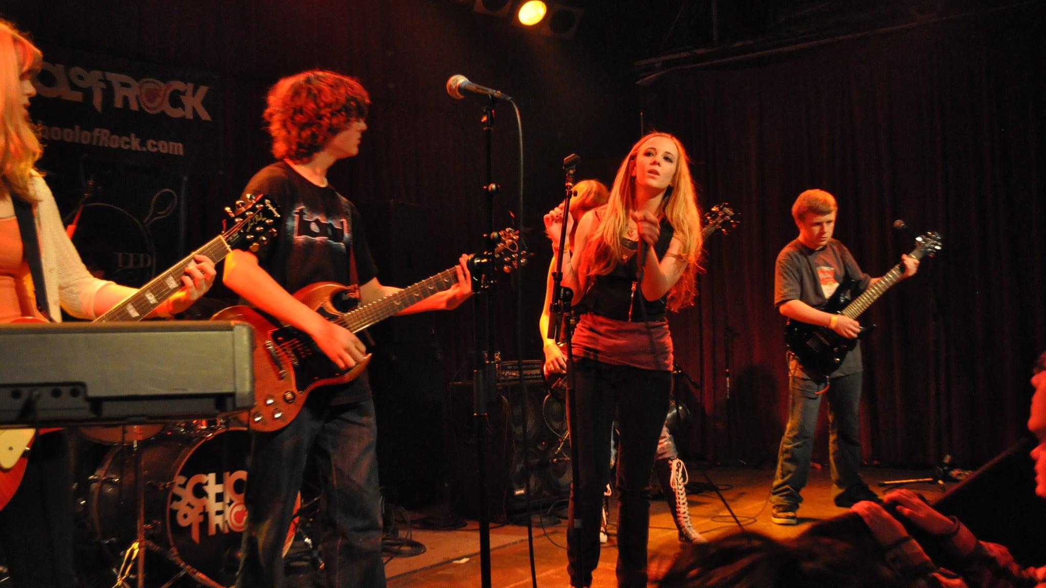 School Of Rock Summer Tour