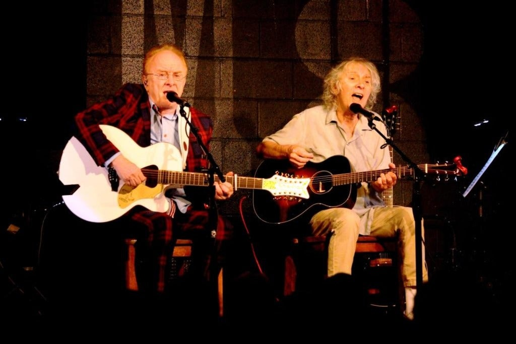 Peter Asher & Jeremy Clyde at The Coach House
