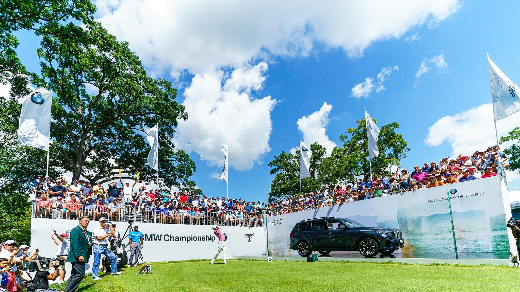 BMW Championship: Friday Tournament Round