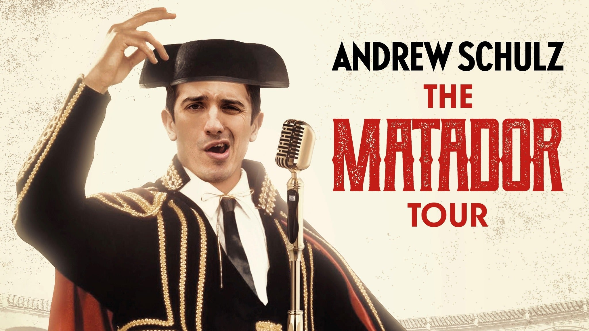 Andrew Schulz at The Santander Performing Arts Center