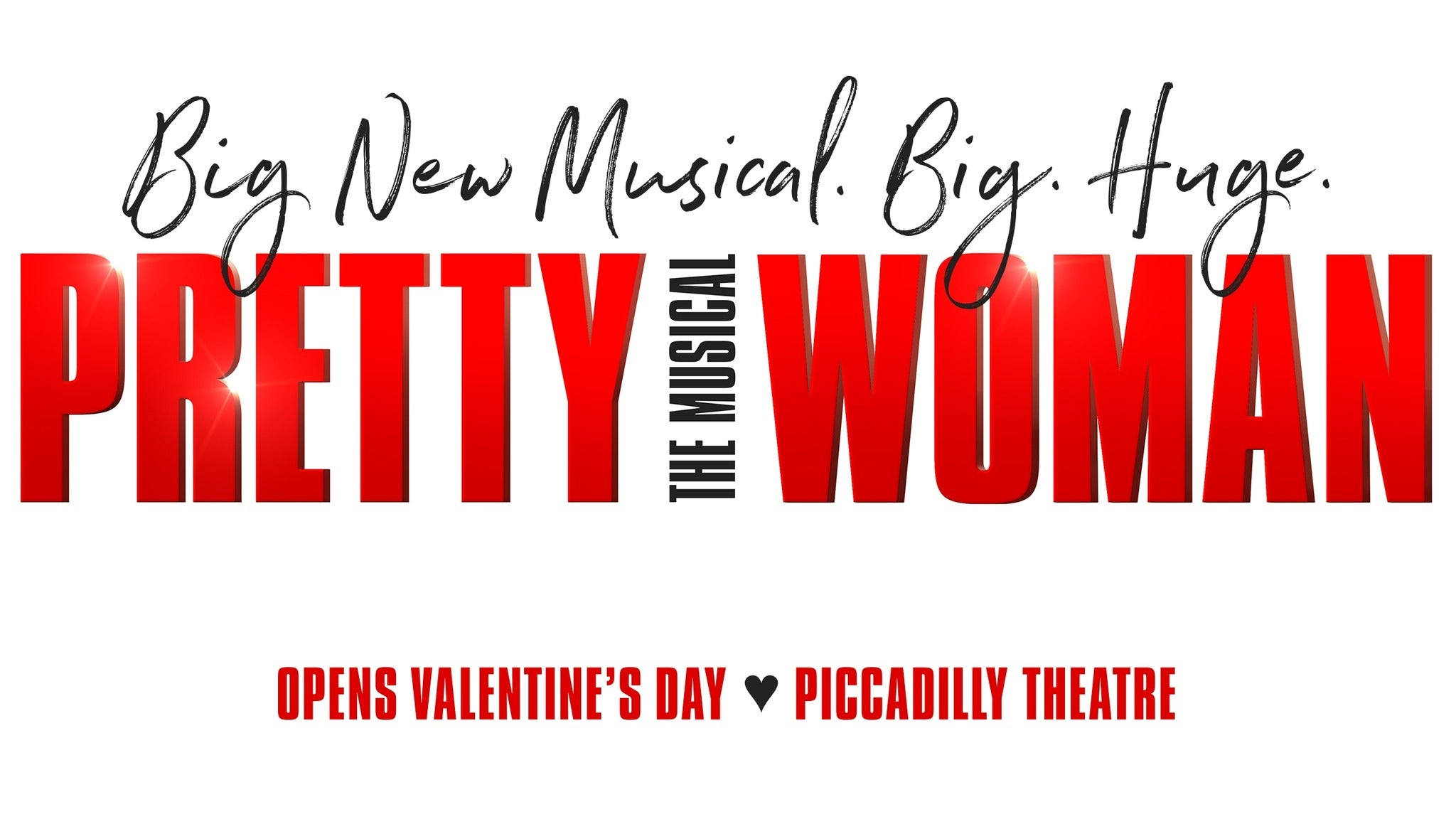 Pretty Woman: The Musical Event Title Pic