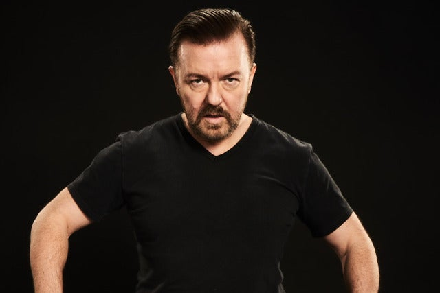 Ricky Gervais tickets (Copyright © Ticketmaster)