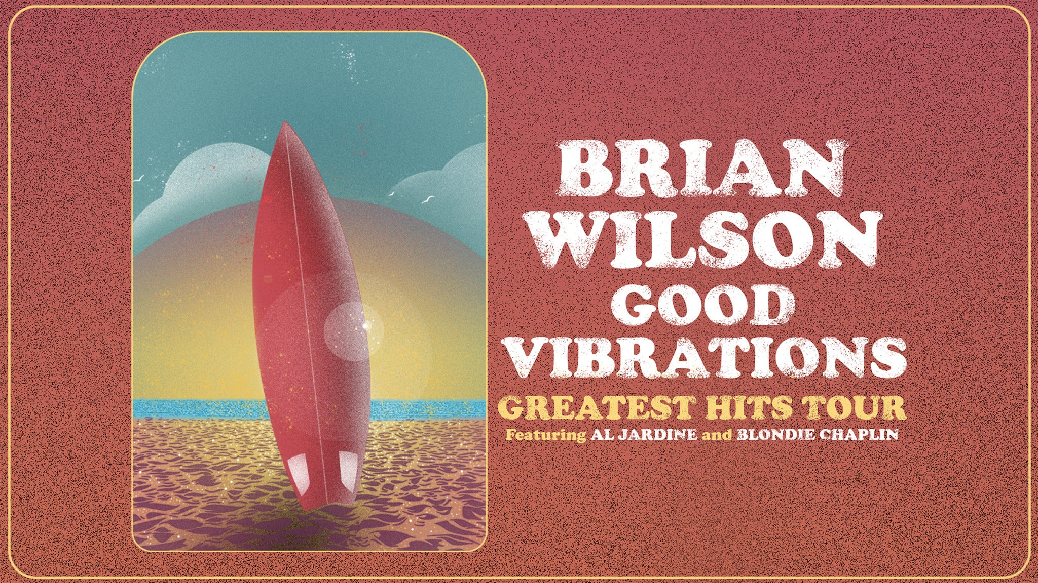 Brian Wilson - Good Vibrations - Greatest Hits Tour tickets (Copyright © Ticketmaster)