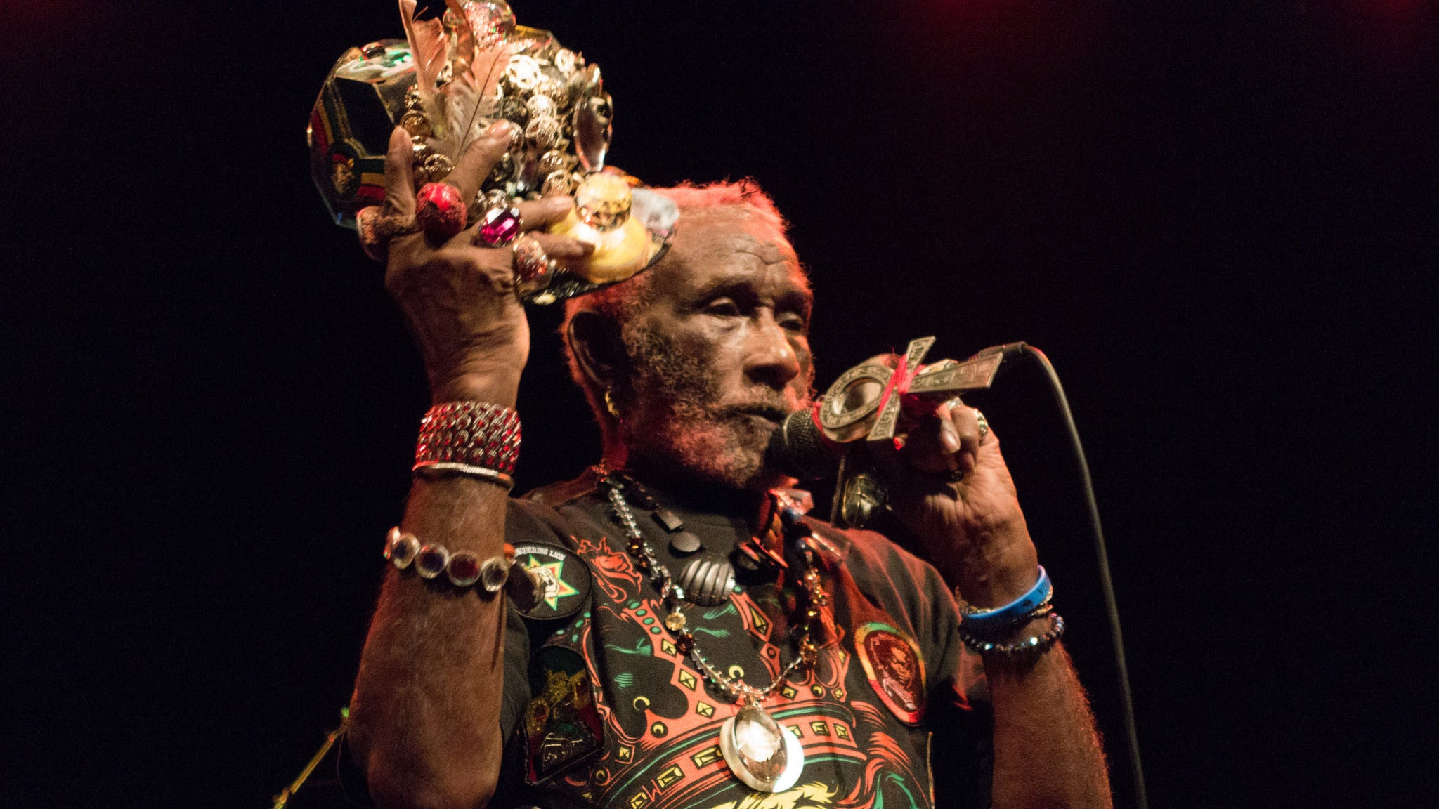 Lee Scratch Perry & Subatomic Sound System at Music Box