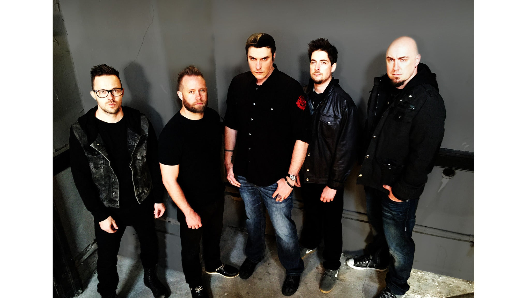Breaking Benjamin at KeyBank Pavilion