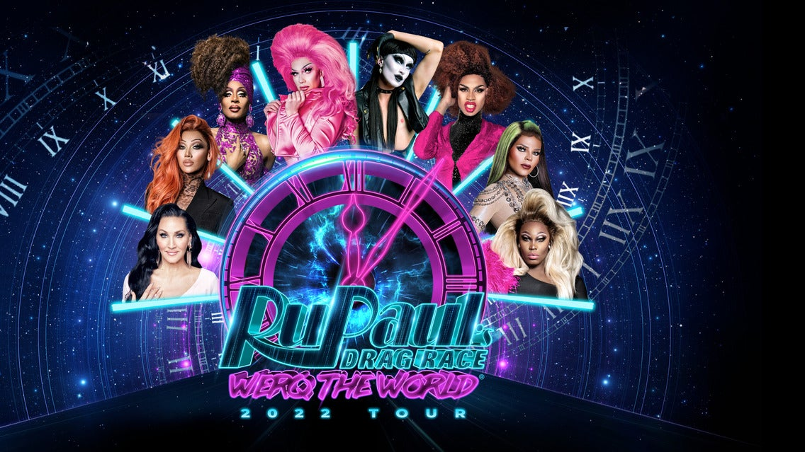 Rupaul's Drag Race: Werq the World Tour 2021 Motorpoint Arena Cardiff Seating Plan