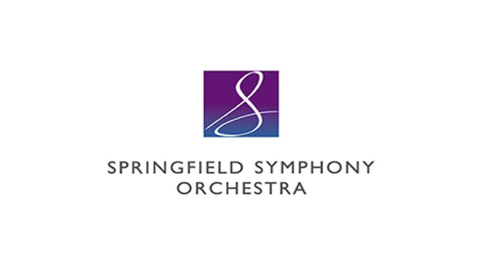 Springfield Symphony Orchestra Presents - Mozart Serenade