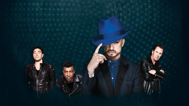 Boy George and Culture Club with Thompson Twins' Tom Bailey