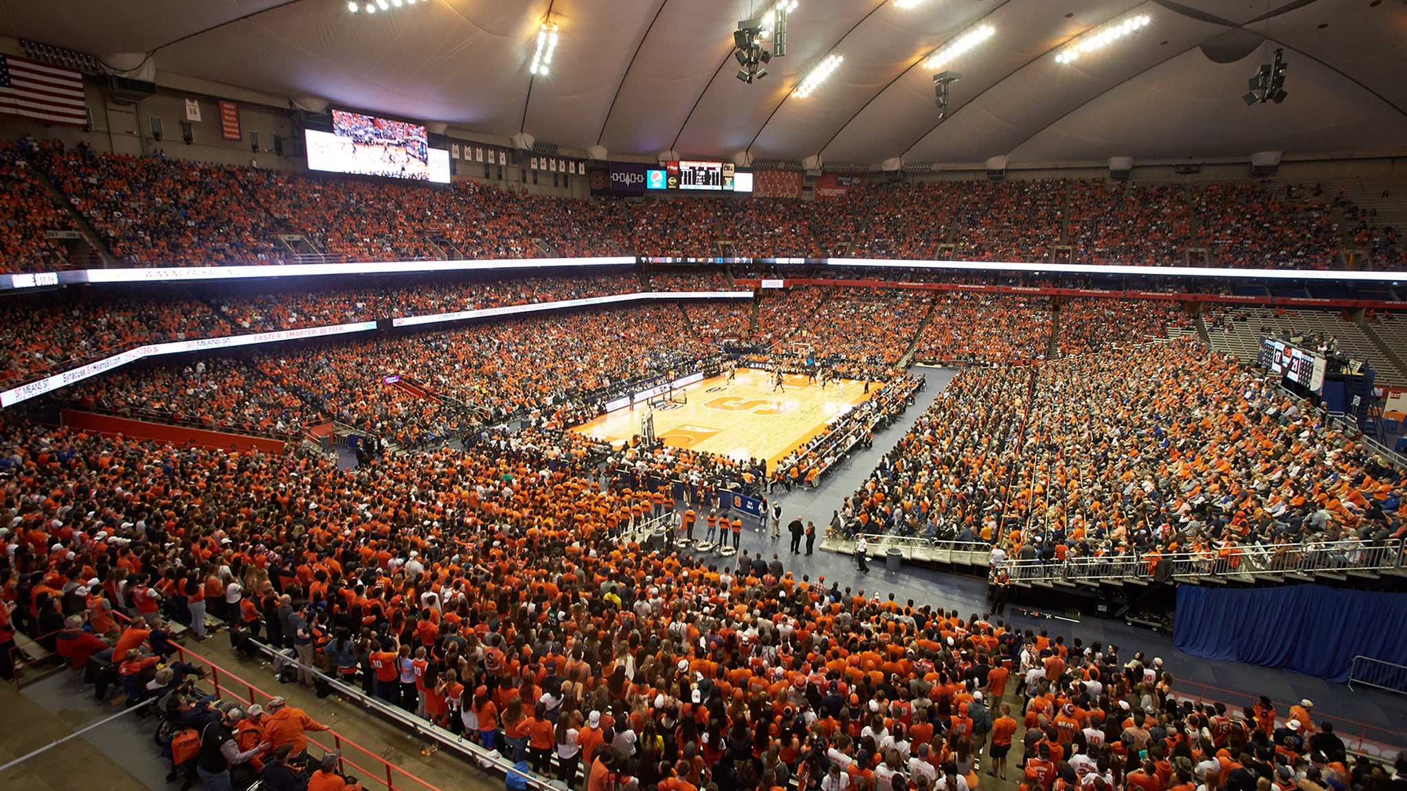 Image used with permission from Ticketmaster | Syracuse University Mens Basketball vs. Wake Forest Demon Deacons Mens Basketball tickets