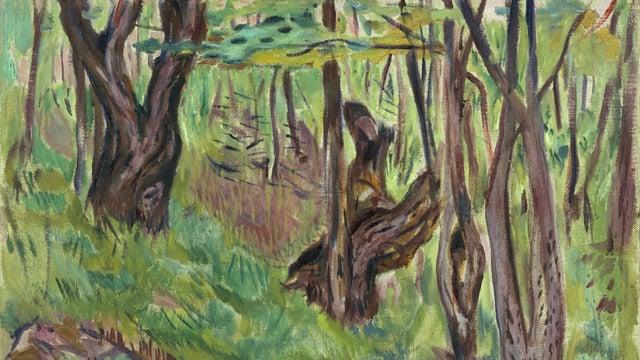 TOWARDS THE FOREST - KNAUSGÅRD ON MUNCH