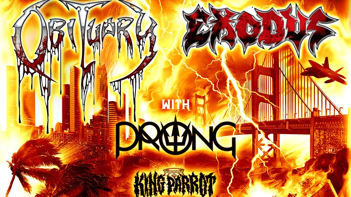 Obituary // Exodus at Teragram Ballroom - Los Angeles, CA 90017