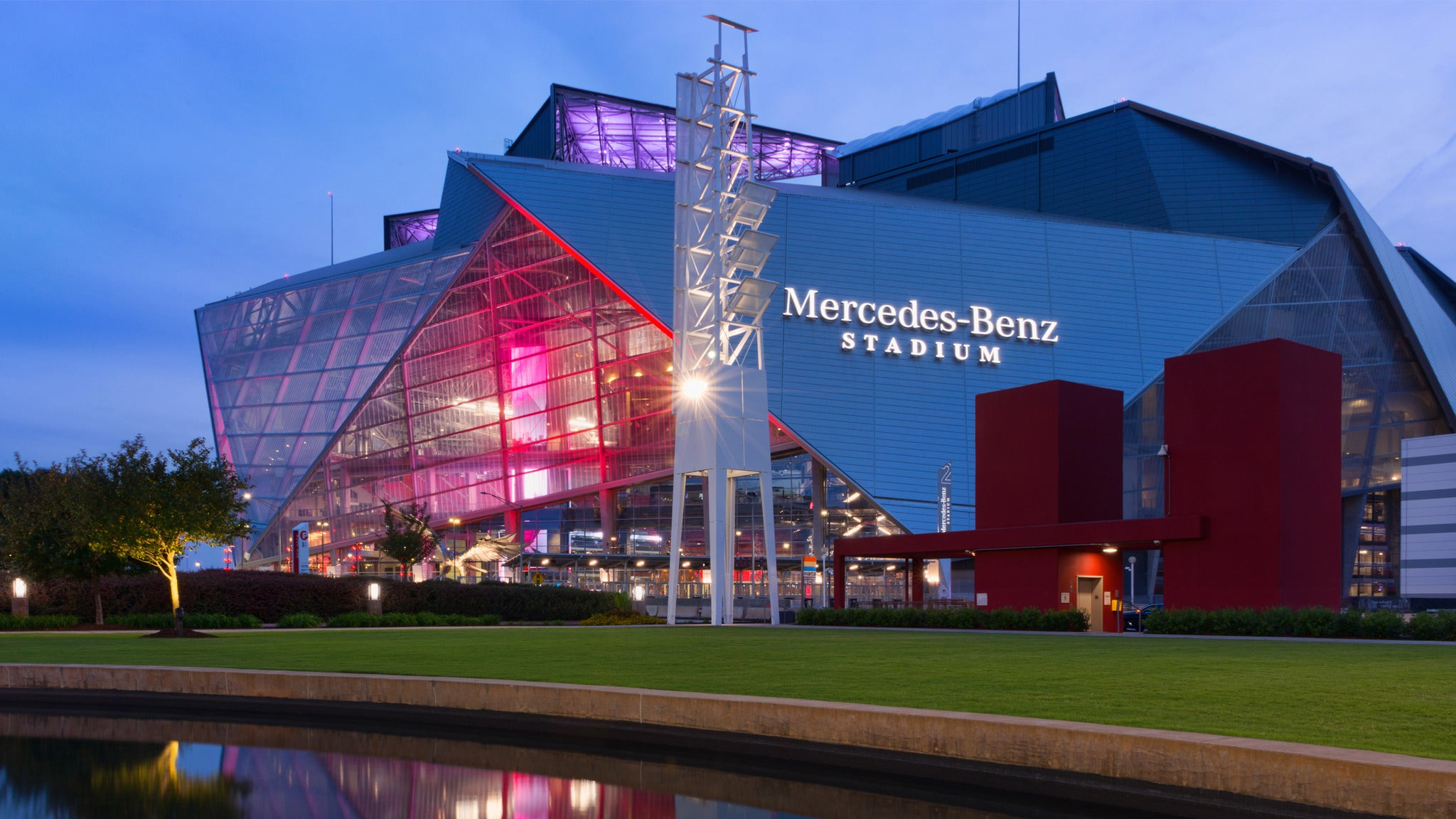 Mercedes-Benz Stadium Tour