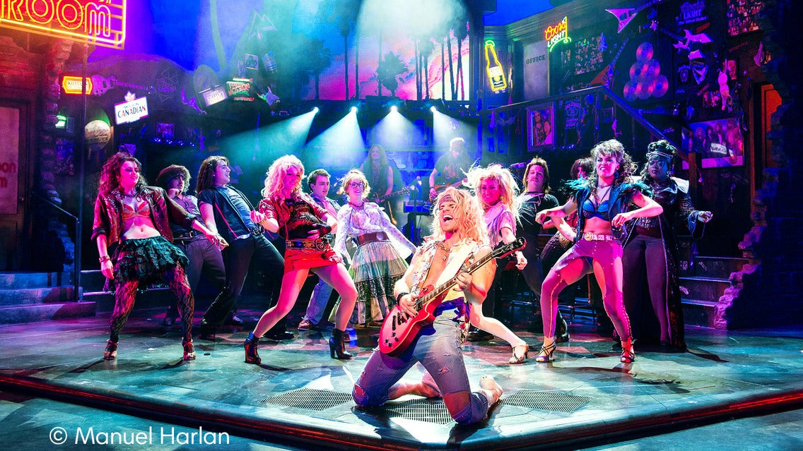 Rock of Ages at Adler Theatre