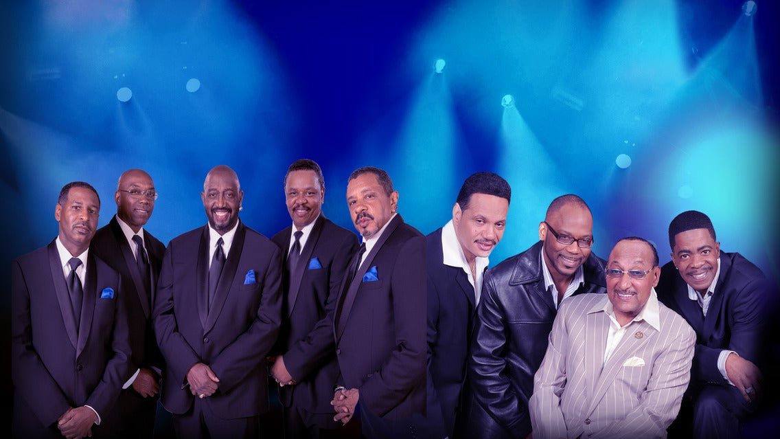The Temptations & the Four Tops at Chester Fritz Auditorium