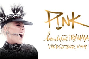 P!NK - Official Platinum Tickets