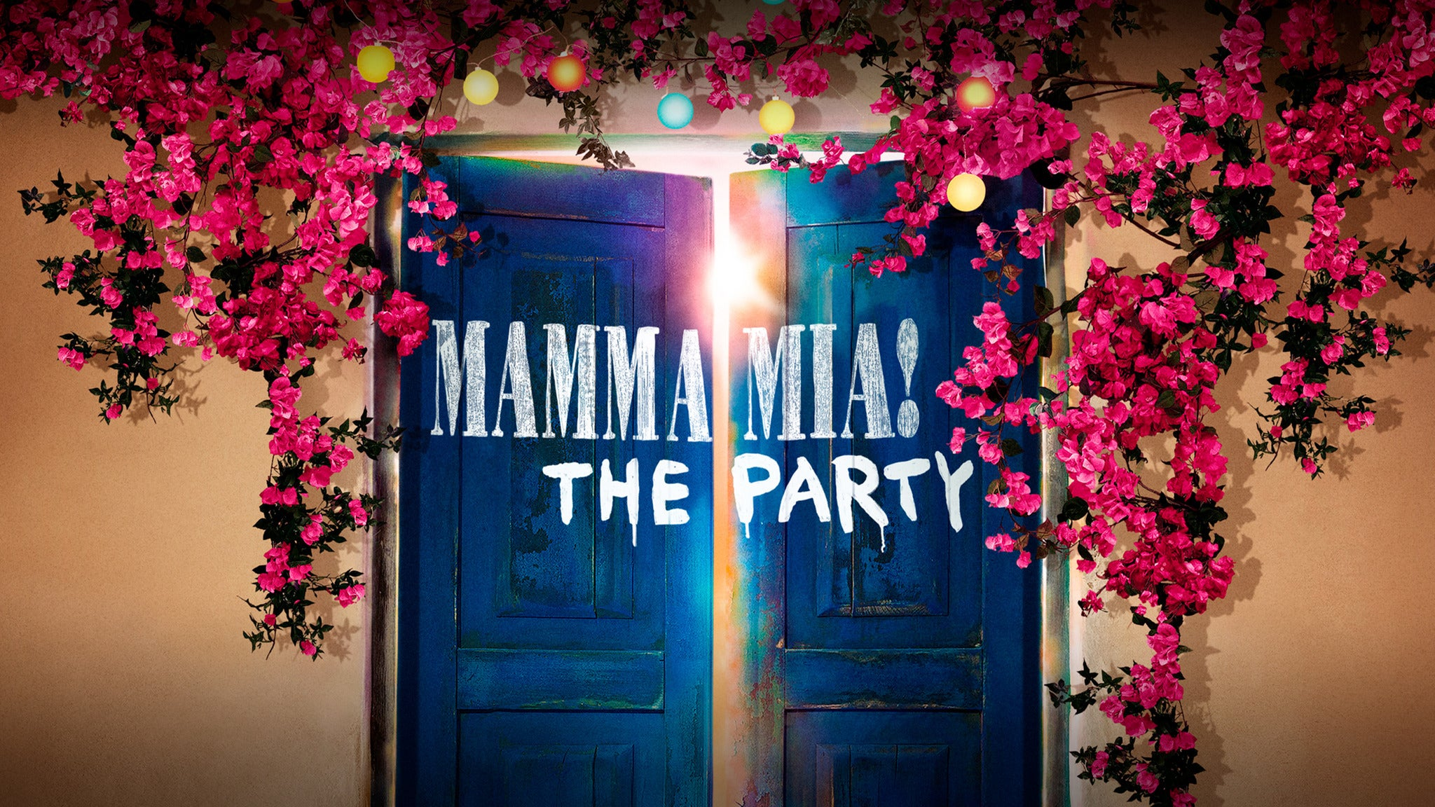 Mamma Mia! The Party Event Title Pic