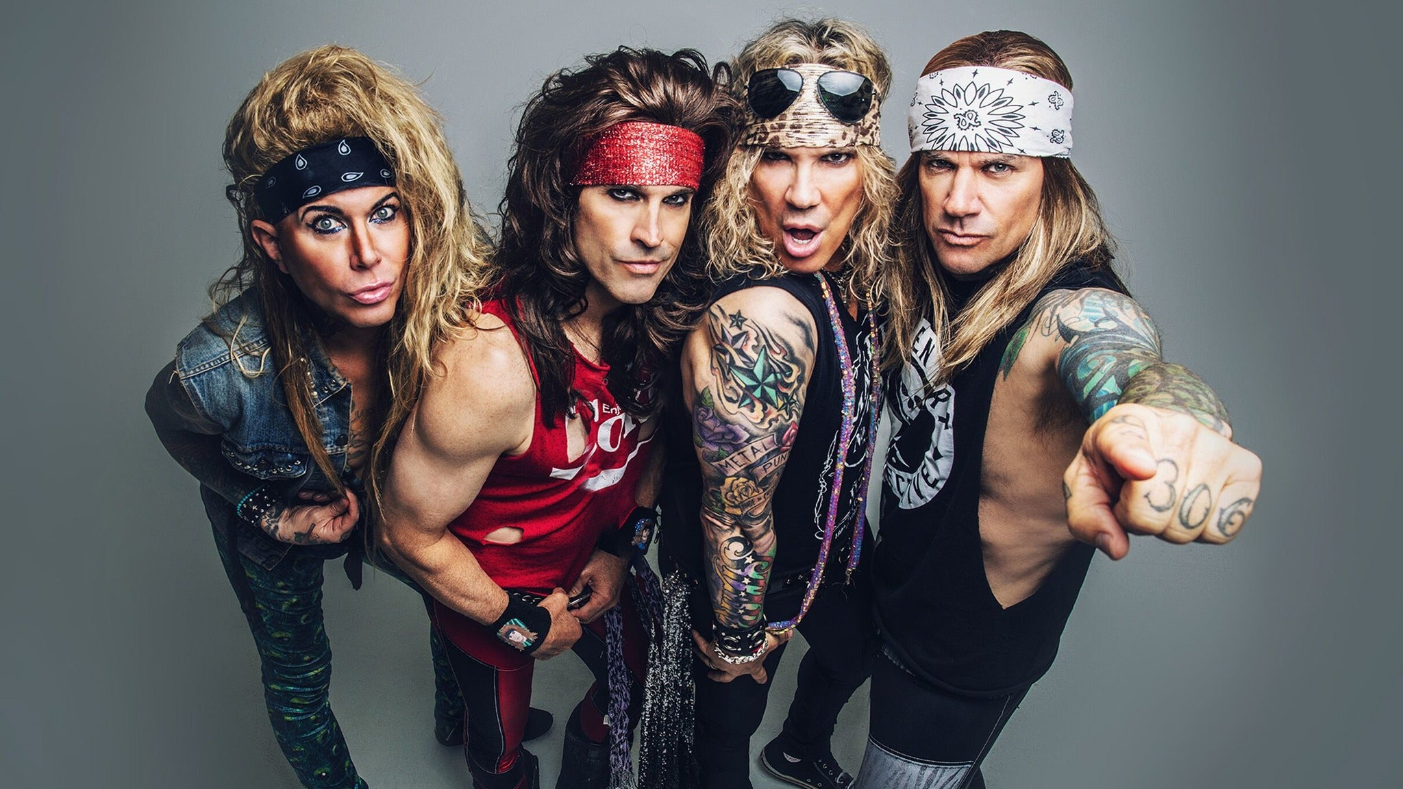 SORRY, THIS EVENT IS NO LONGER ACTIVE<br>Steel Panther - Heavy Metal Rules Tour at Uptown Theater - Kansas City, MO 64111