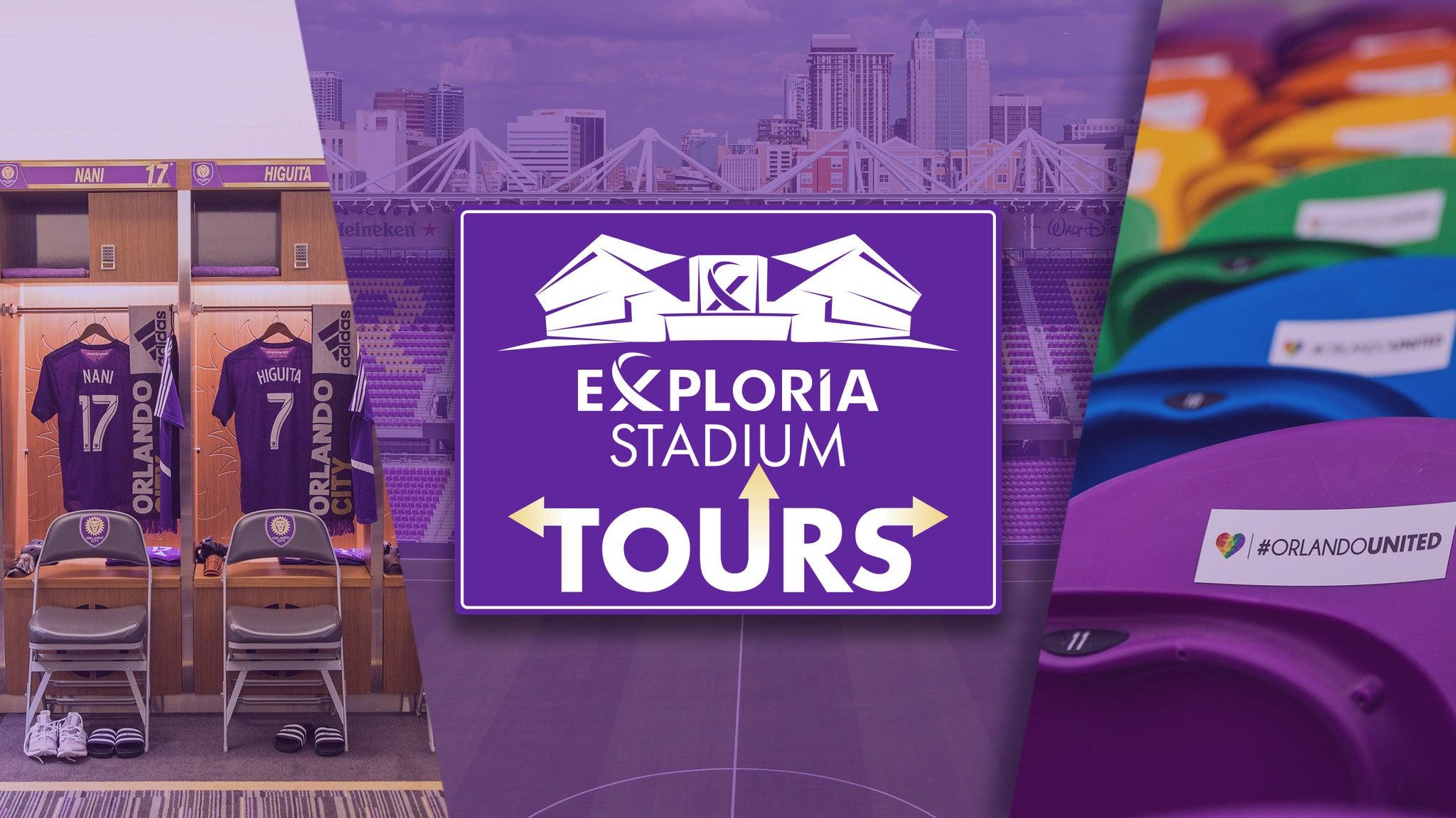 Exploria Stadium Tours