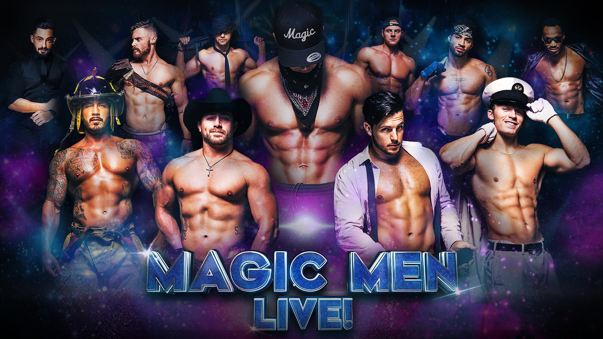 Magic Men LIVE! at Chandler Center for the Arts