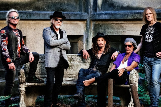 Aerosmith I European Tour 2021 I Platinum