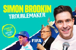 Simon Brodkin - Troublemaker Seating Plans