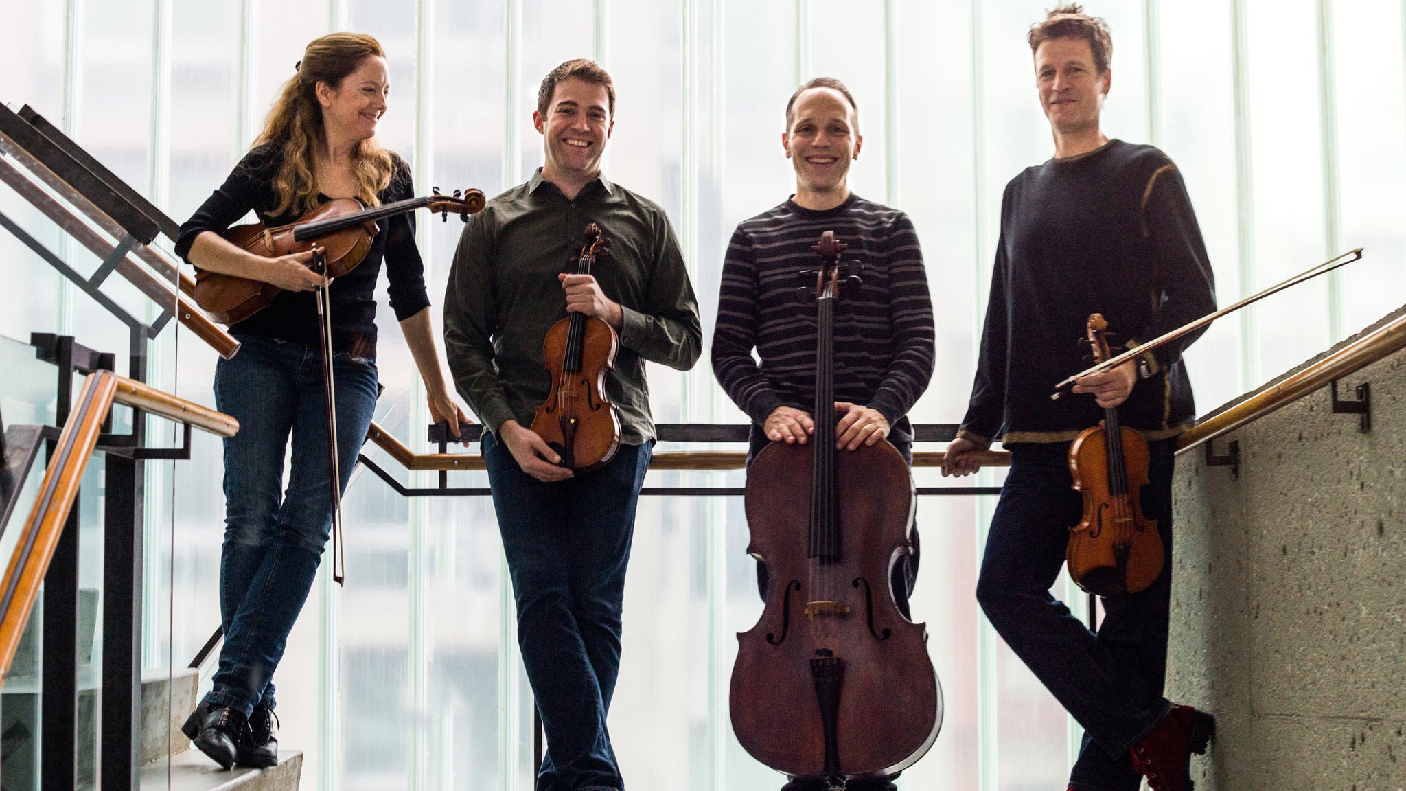 St. Lawrence String Quartet at Valley Performing Arts Center - Northridge, CA 91330
