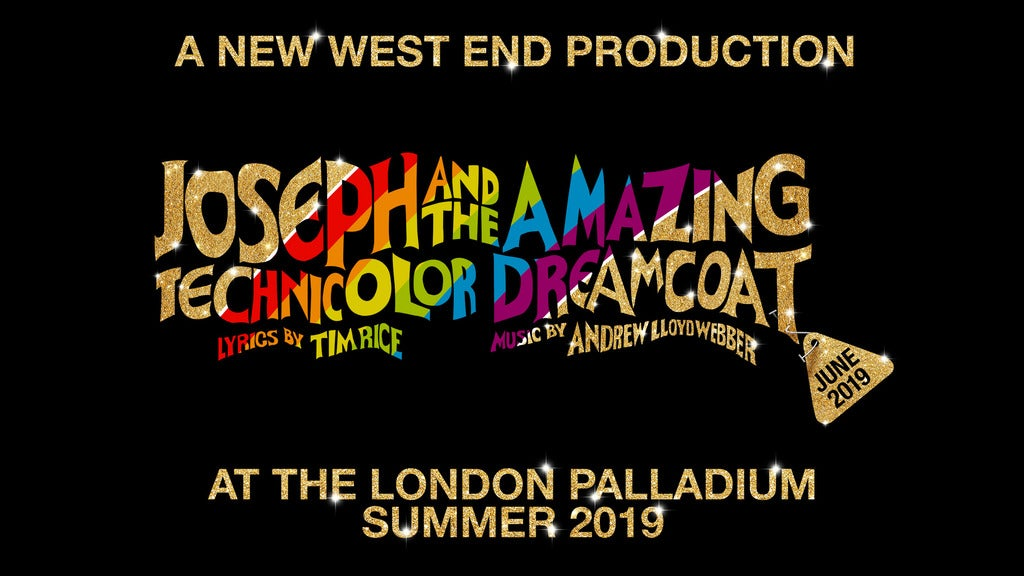 Joseph and the Amazing Technicolor Dreamcoat Seating Plans