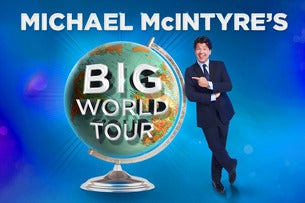Michael McIntyre's Big World Tour 2018 Seating Plans