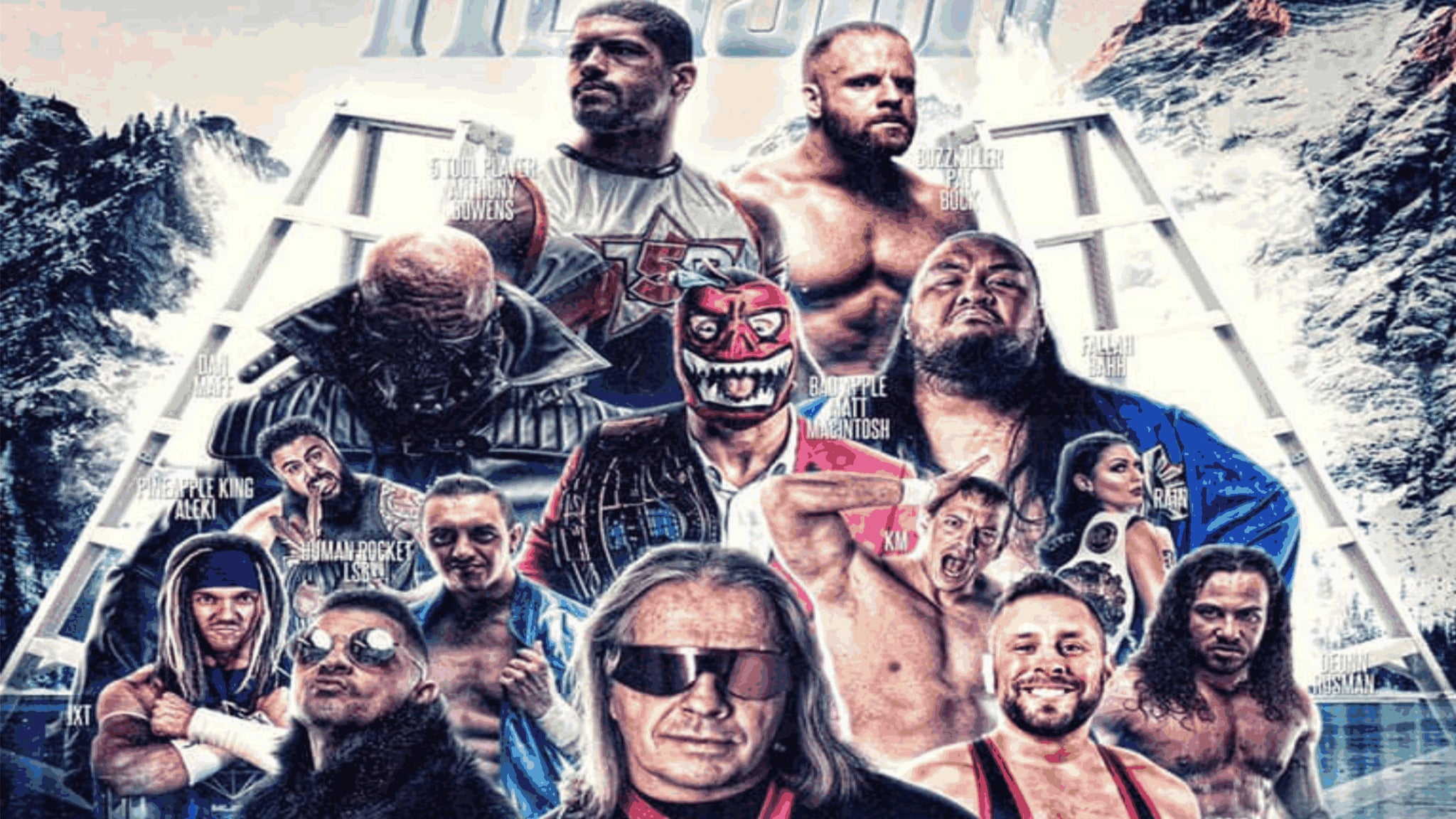 WrestlePro Alaska at George M Sullivan Sports Arena
