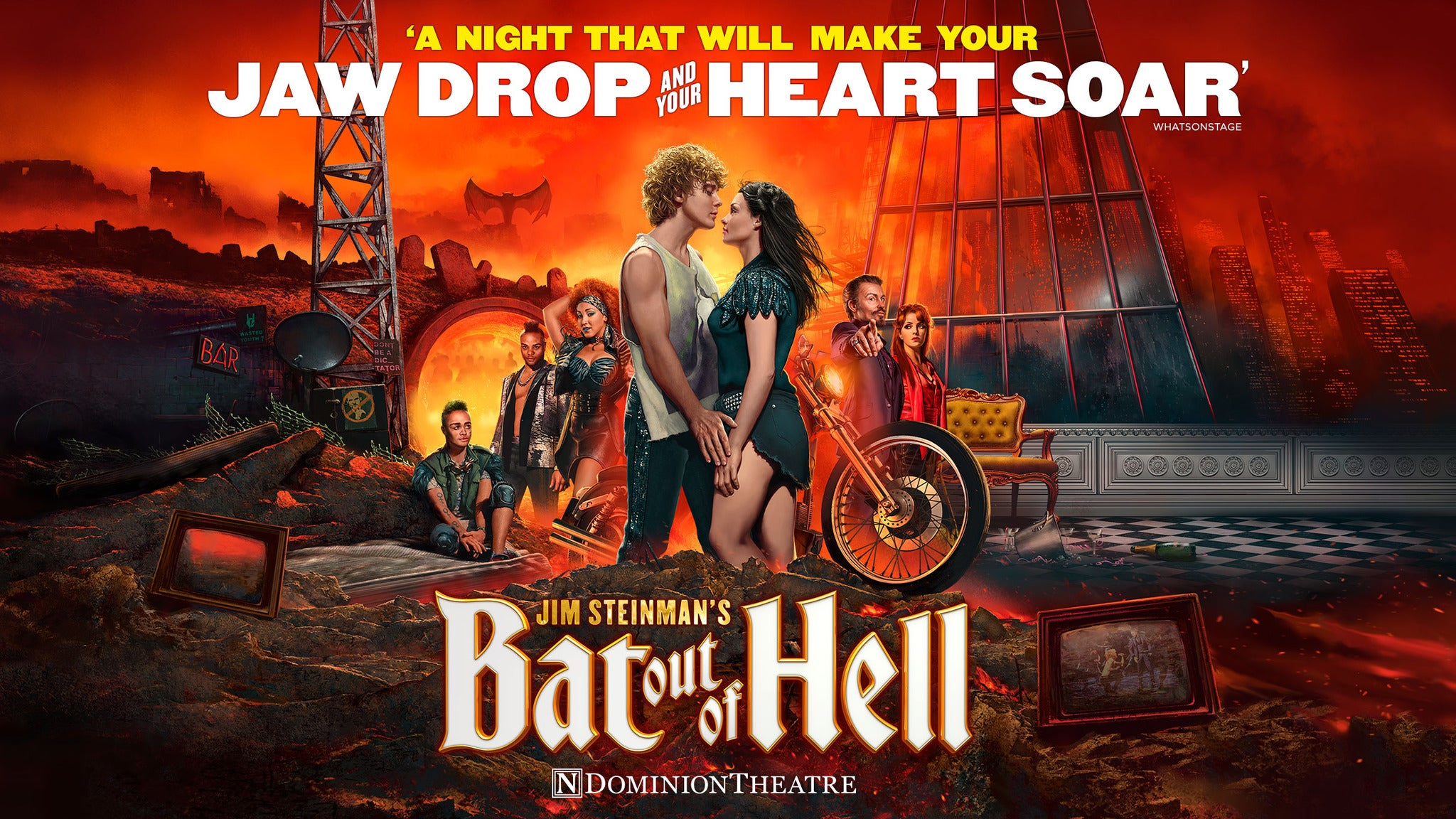 BAT OUT OF HELL THE MUSICAL at Des Moines Civic Center