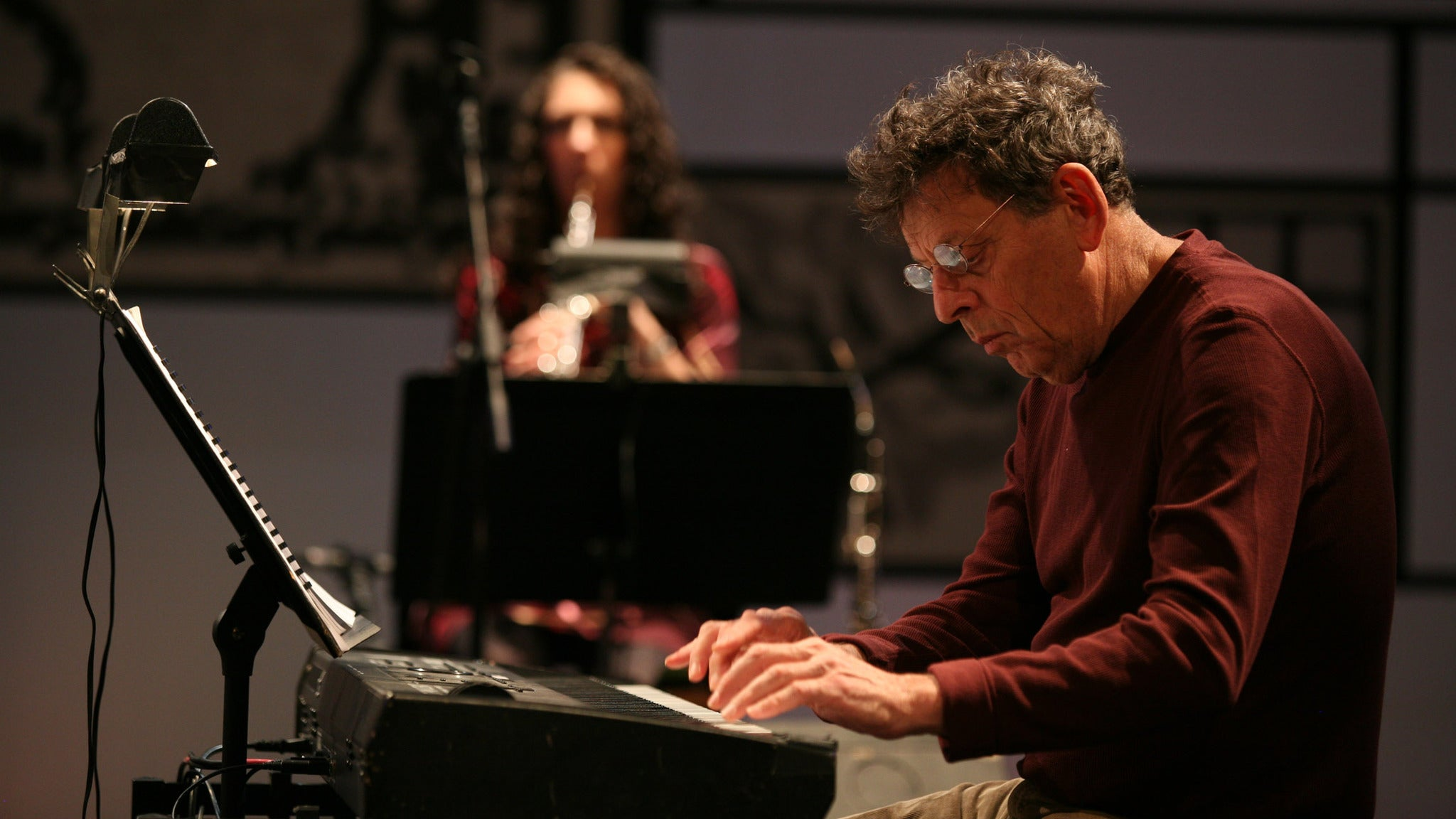 Philip Glass at Paramount Theatre-Oakland