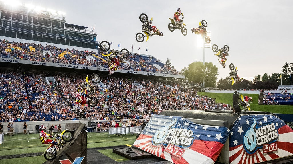 Hotels near Nitro Circus Events