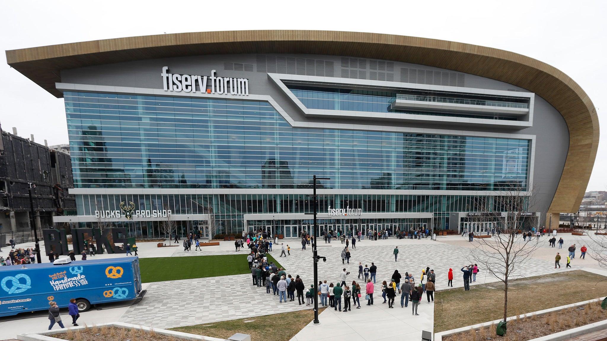 Fiserv Forum Tours